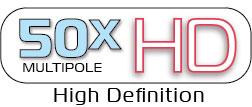 50x Multipole HD logo