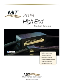 MIT High End Product Catalog 2019 cover