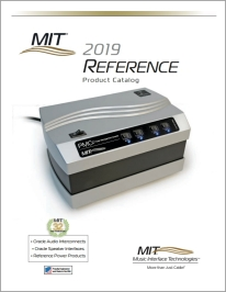 MIT Reference Products Catalog 2019 cover