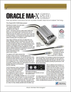 Oracle MA-X SHD Infosheet