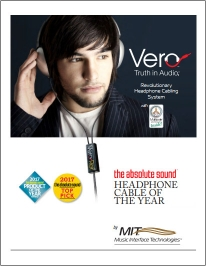 View the MIT Vero Headphone Cables Brochure 2018 Online