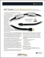 Oracle Z-Cord Reference FP infosheet image