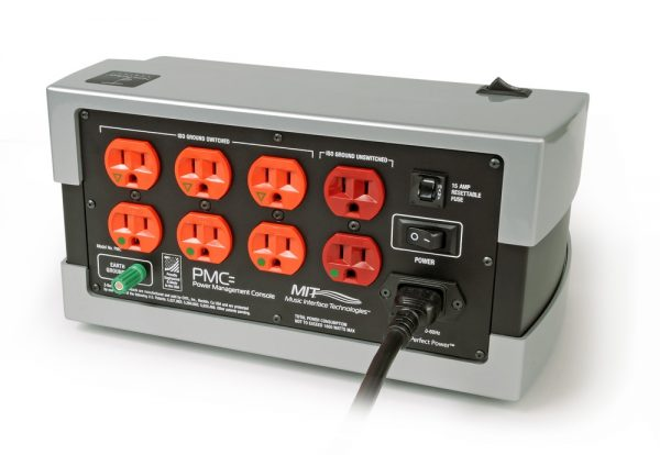 PMC Power Management Console USA back