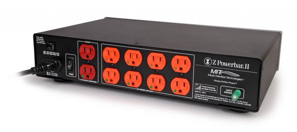 MIT Cables Z Powerbar II USA back